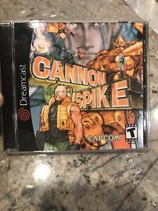 Cannon Spike (Sega Dreamcast, 2000) Reproduction Game And Case