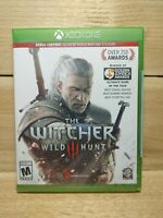 The Witcher 3 Wild Hunt Xbox One Factory Sealed Hole in Shrink Wrap