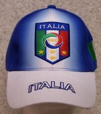 Embroidered Baseball Cap Soccer International Italy Football Federation NEW