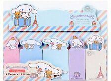 CINNAMOROLL Cloud Cucciolo Carino Kawaii Sticky Notes Stick Marcatori Set