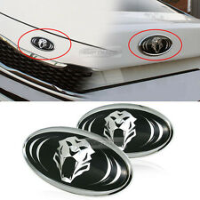 2pcs Tiger Tigris FR Grill+Trunk Badge EMBLEM Stickers For KIA HYUNDAI K5 Sonata