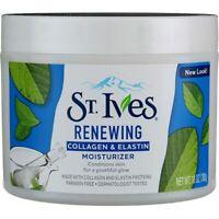 St. Ives Renewing Facial Moisturizer, Collagen & Elastin, 10 oz