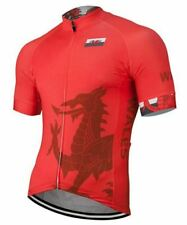 Wales Short Sleeve Cycling Jersey Free Shipping