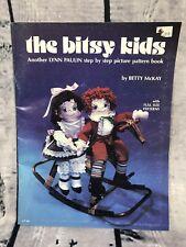 THE BITSY KIDS DOLL PATTERN BOOK VTG LYNN PAULIN 1982 STEP BY STEP PICTURE (K8/9