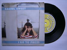 RACHEL SWEET - I Go to pièces / Who Does Lisa Like? STIFF RECORDS buy-44 EX