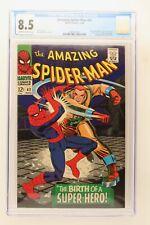 Amazing Spider-Man #42 - Marvel 1966 CGC 8.5 Mary Jane Watson's face revealed!
