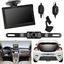 "Car Backup Camera Rear View Wireless Kit System + 5"" TFT LCD Rear View Monitor"