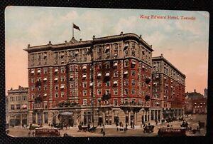 1908 Vintage Postcard King Edward Hotel Toronto Souvenir Post Card S.H. KNOX