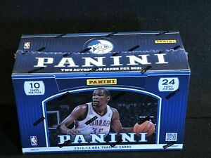 2012-13 Panini Basketball Hobby Box