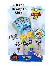 Disney Pixar Toy Story 4 Mini Giggle McDimples Pet Patrol Playset Badge HTF