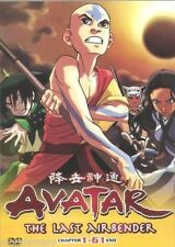 DVD Avatar-The Last Airbender Complete Ep. 1-61 End