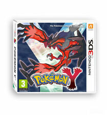 Pokemon Y Nintendo 3Ds Video Game Official PAL