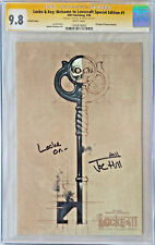Locke & Key Welcome to Lovecraft Special Edition Variant 1 CGC 9.8 Signed and