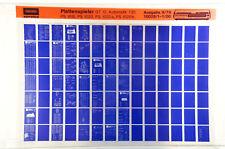 Grundig Service tocadiscos GT 12 CV-serie Automatik 730 microfichas 1979 k185