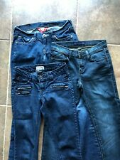 Lot of 3: Denim Jeans Size 0/1 Lucky Rock & Republic Mudd