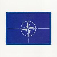 Nato Nord-Atlantik-Bündnis Flaggen Flags Patch Aufbügler Aufnäher 0729 X
