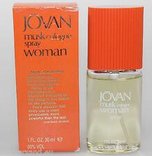 JOVAN musk Cologne Woman 30 ml Eau de Cologne EdC Spray Neu/OVP