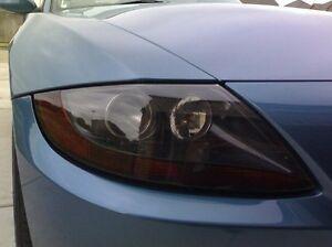 03-08 BMW Z4 SMOKE HEAD LIGHT PRECUT TINT COVER SMOKED OVERLAYS