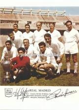 REAL MADRID FC LEGENDS FERENC PUSKAS & ALFREDO DI STEFANO SIGNED (PRINTED)