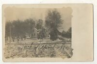 RPPC House near RED WING? MN 1910 Minnesota Real Photo Americana Postcard