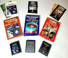 ATARI 2600 LOT OF 3 Asteroids, Space Invaders, Combat Pre-Owned Video Games