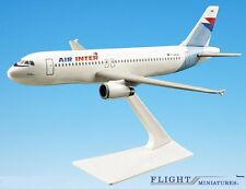 Air Inter France A320-200 Airplane Miniature Model Plastic Snap-Fit 1:200 Part#