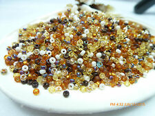 11/0 Golden Grains Mix Miyuki  Glass Round Seed Beads 10 Grams