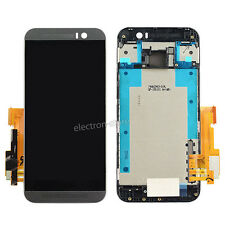 For HTC One M9 LCD Display Touch Screen Digitizer Assembly With Frame Grey