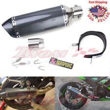 Universal Motorcycle Short Exhaust Muffler Silencer Slip On DB Killer 38mm-51mm