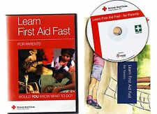 LEARN FIRST AID FAST FOR PARENTS BY THE BRITISH RED CROSS. GREAT SOFTWARE FOR PC