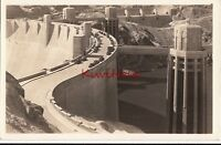Postcard RPPC Postcard Boulder Dam Nevada Vintage Cars
