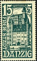 DANZIG - 1936 - Mi.263 15pf+5pf green - Mint*