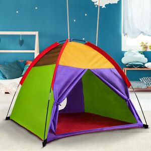 Kids Play Tent Rainbow Color Outdoor Camping Beach Tent Indoor Children Fun