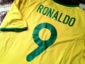 Jersey Brazil Nike Ronaldo 2000 (2XL) vintage  rare  shirt maglia  R9