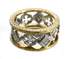 Loree Rodkin 18kt Yellow Gold and Platinum Ring