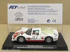 FLY 96079 or E-1501 Martini Porsche Carrera 6 Sp Ed Int'l Toy Fair 1:32 Slot Car