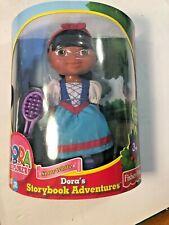 Dora's Storybook Adventures Snow White Doll Nick Jr Fisher Price * New *