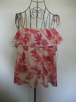 WOMANS WAREHOUSE SLEEVELESS BIAS CUT FLOATY TOP SIZE 12 NEW WITH TAG