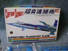 Captain Scarlet Supersonic Transport Plane Model Kit Imai Japan Thunderbirds