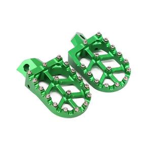 Footpegs Footrest Pedal For Kawasaki KX125 KX250 KX500 KDX200R KDX220R KDX250