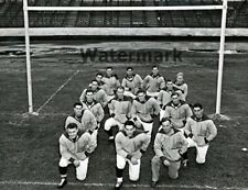 NFL 1940's Brooklyn Dodgers AAFC Black & White Team Picture 8 X 10 Photo