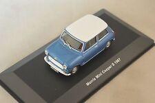 SOLIDO 400400 - Morris Mini cooper S 1967 bleu toit blanc 1/43