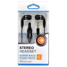 3.5 mm Hands Free Earphones Headphones Headset With Mic. For PC Notebook Laptop