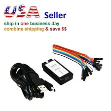 USB Logic Analyzer Device Set USB Cable Debug Tool 24MHz 8CH 24MHz for ARM