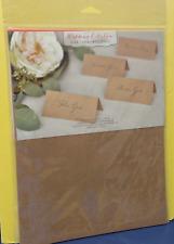 Gartner Studios 16704 Wedding Collection Printable Place Cards  ~ Free S/H