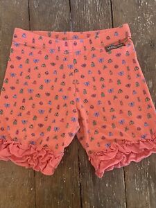 Matilda Jane Ruffle Shorts Shorties Size 8 Camp Ride Along