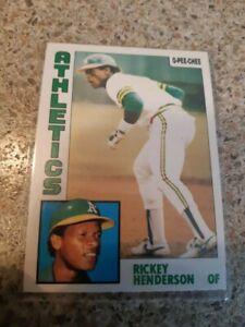 1984 O-Pee-Chee Rickey Henderson card #230 ( Oakland Athletics A's )
