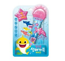 Pinkfong Shark Family Mike Wireless Singing Microphone Songs Toy 15KO +1EN Songs