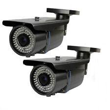 HD 1800TVL 72IR LEDs Infrared night Varifocal Lens Outdoor Security CCTV Camera