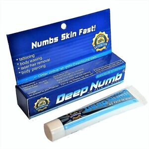 10g DEEP NUMB Skin Numbing Cream Anesthetic Tattooing Piercing Waxing Laser Dr